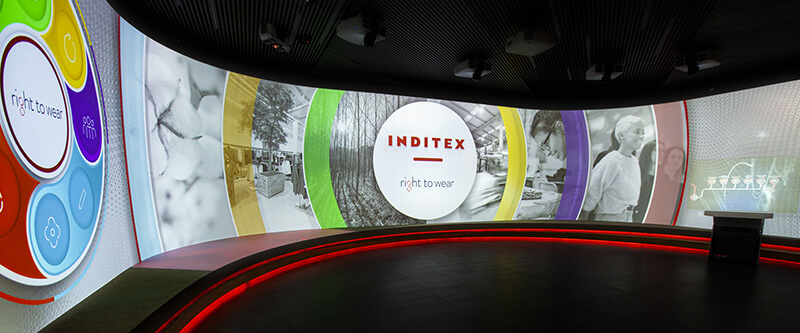 Inditex – Headquater's Showroom